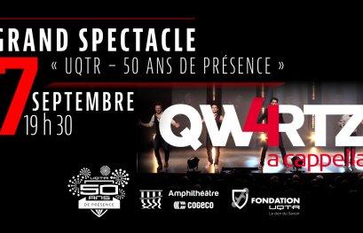 Grand spectacle « UQTR – 50 ans de présence »