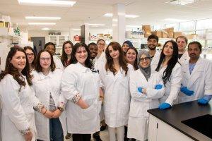 L'équipe de recherche de la professeure Isabel Desgagné-Penix.