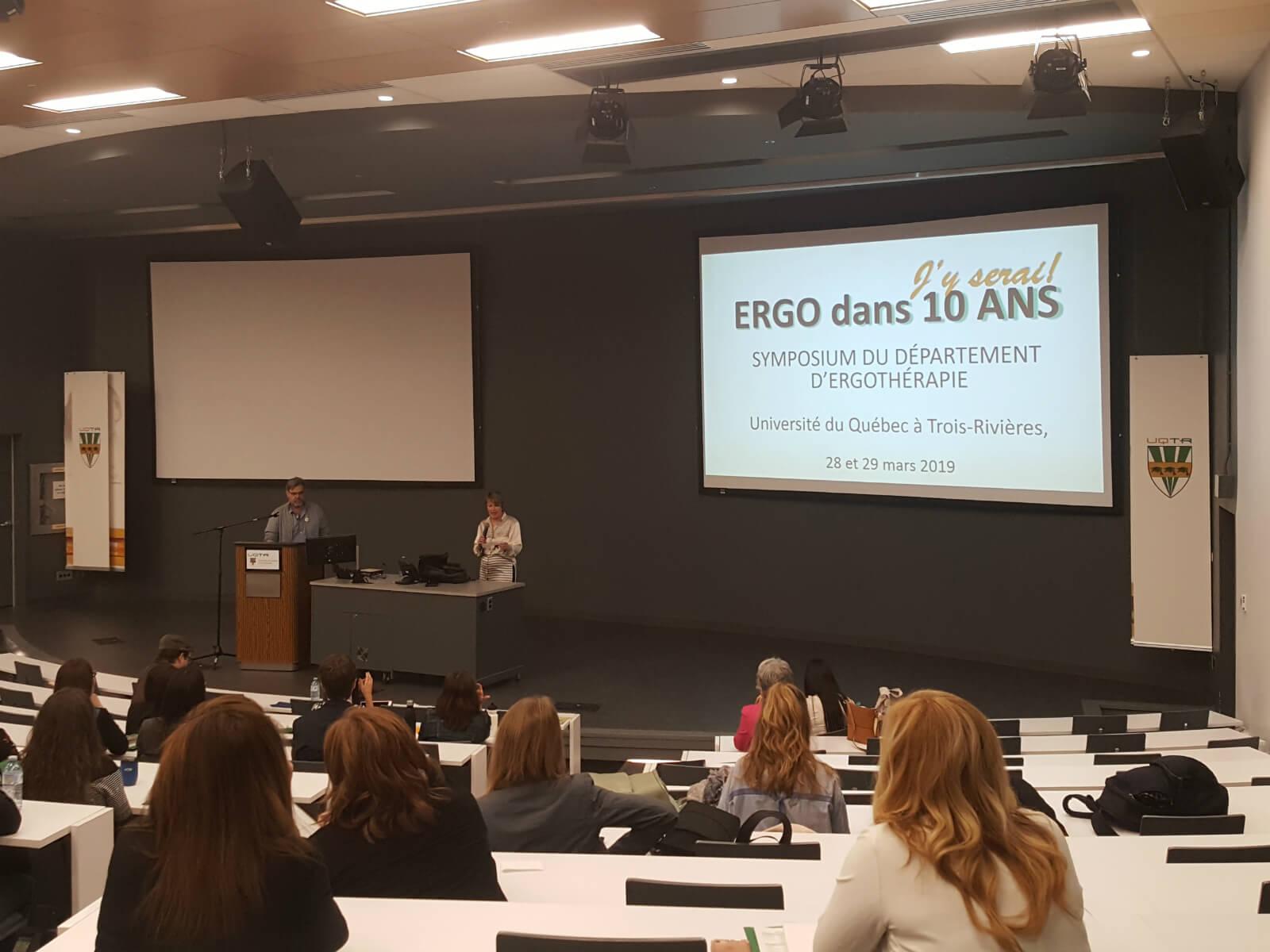 Dix ans de formation et de recherche en ergothérapie à l'UQTR