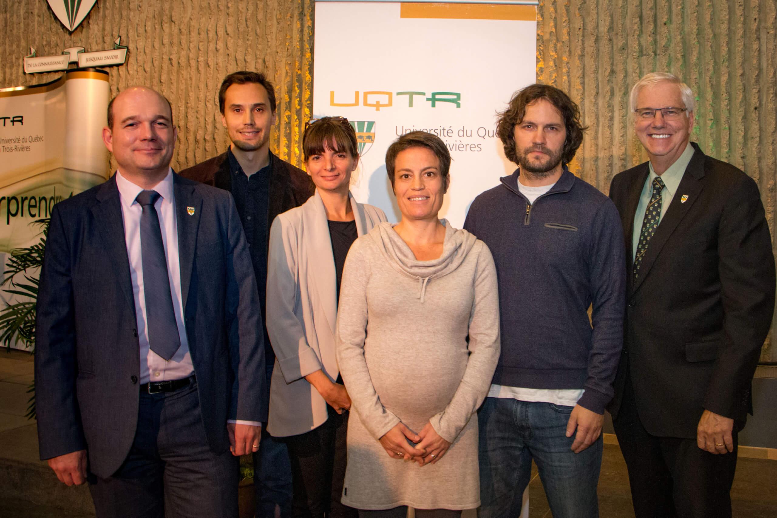Chaires de recherche UQTR: quatre chercheurs s'attaquent à des enjeux de santé publique et d'environnement