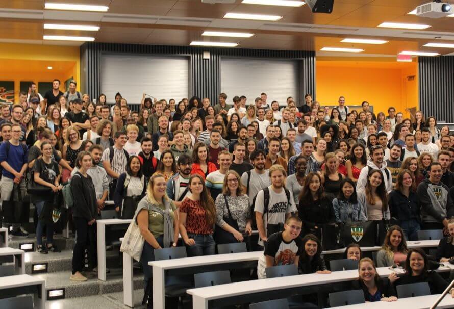 Automne 2019 : l'UQTR accueille 221 étudiants en échanges internationaux