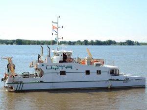 Le navire de recherche Lampsilis de l'UQTR