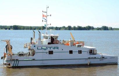 Le navire Lampsilis termine une autre mission scientifique