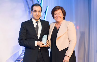 Le professeur Jamal Ben Mansour reçoit le prix Engagement