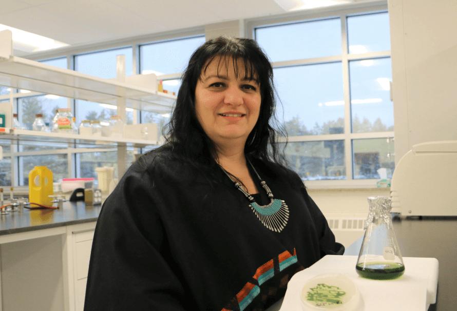 Isabel Desgagné-Penix, professeure au Département de chimie, biochimie et physique de l'UQTR.