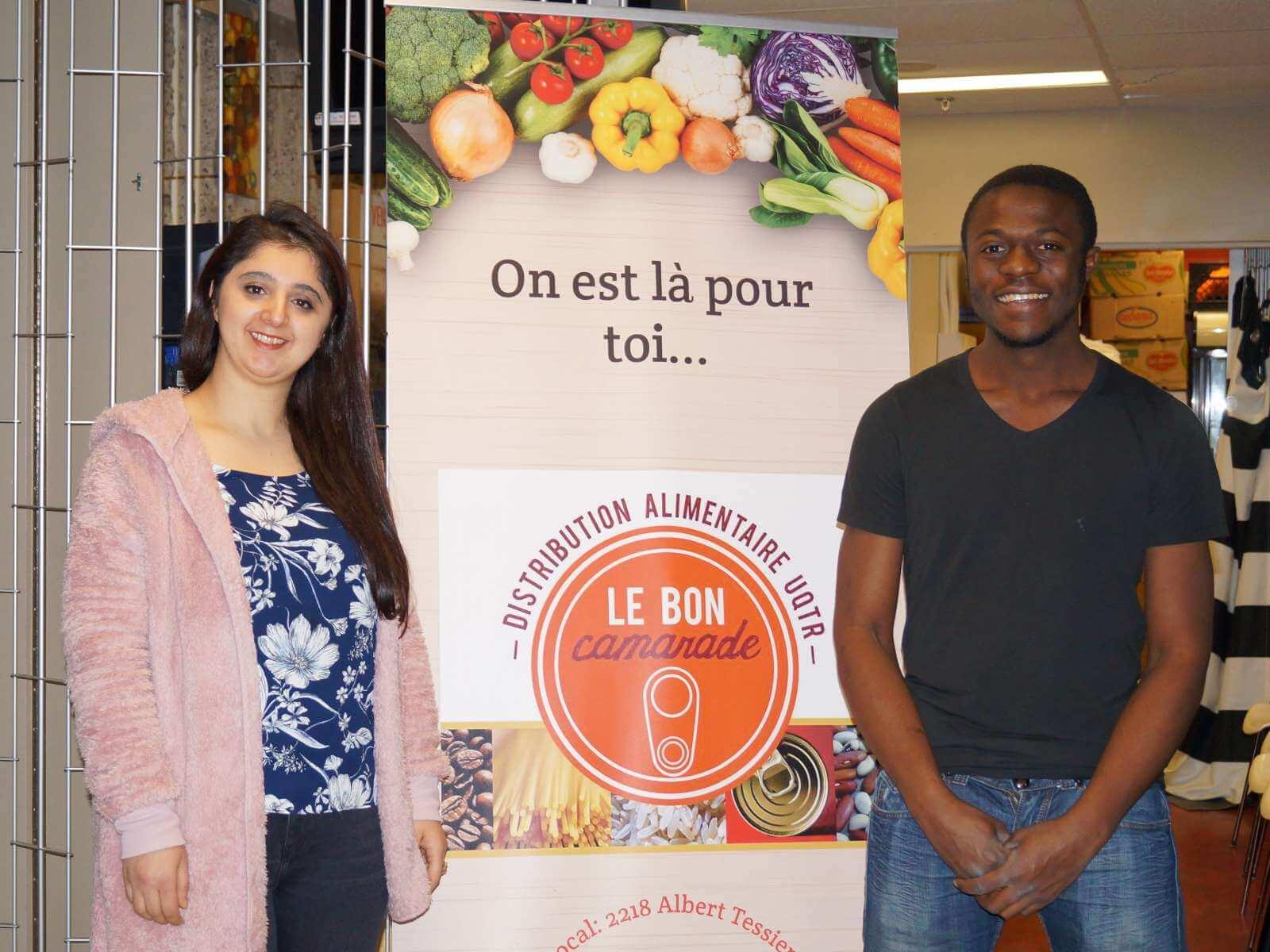 En vidéo : offrir nourriture et réconfort aux étudiants dans le besoin