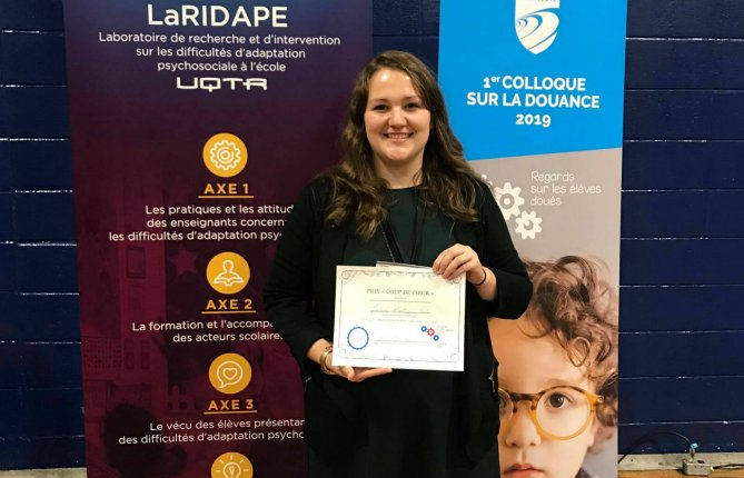 Prix Coup de coeur décerné à Isabelle Martineau-Crète