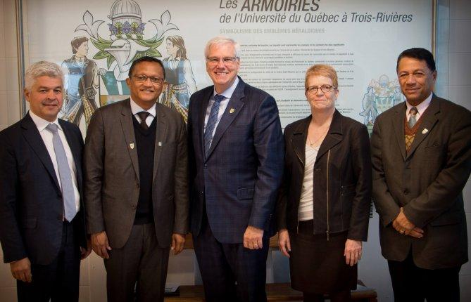 L'UQTR reçoit des partenaires de Madagascar