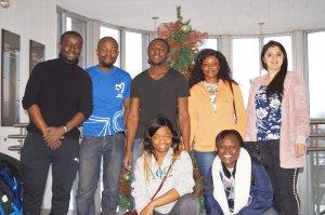 Des membres de l'équipe d'étudiants bénévoles de l'organisme Le Bon Camarade.