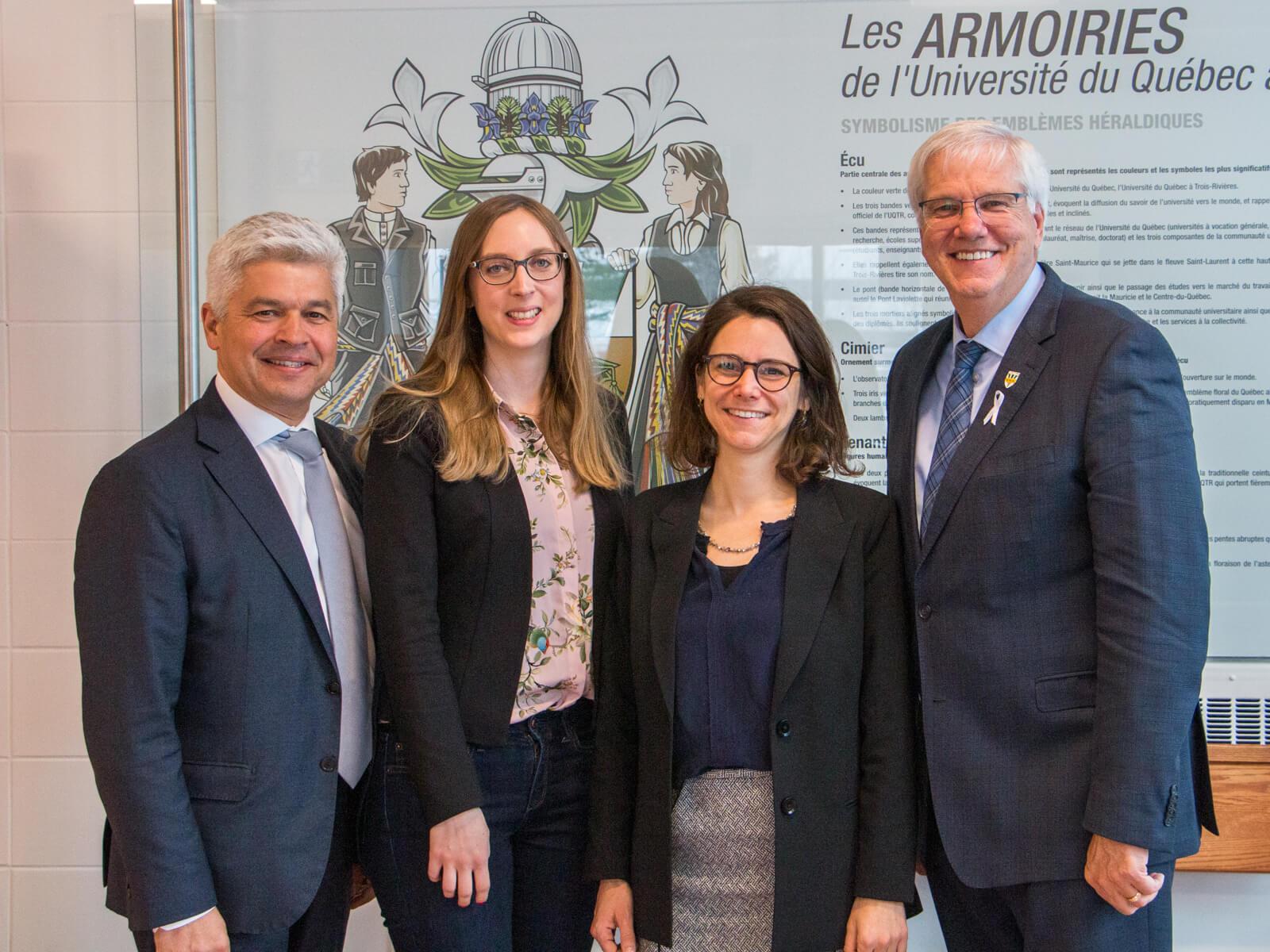 La Déléguée générale de Wallonie-Bruxelles en visite à l'UQTR