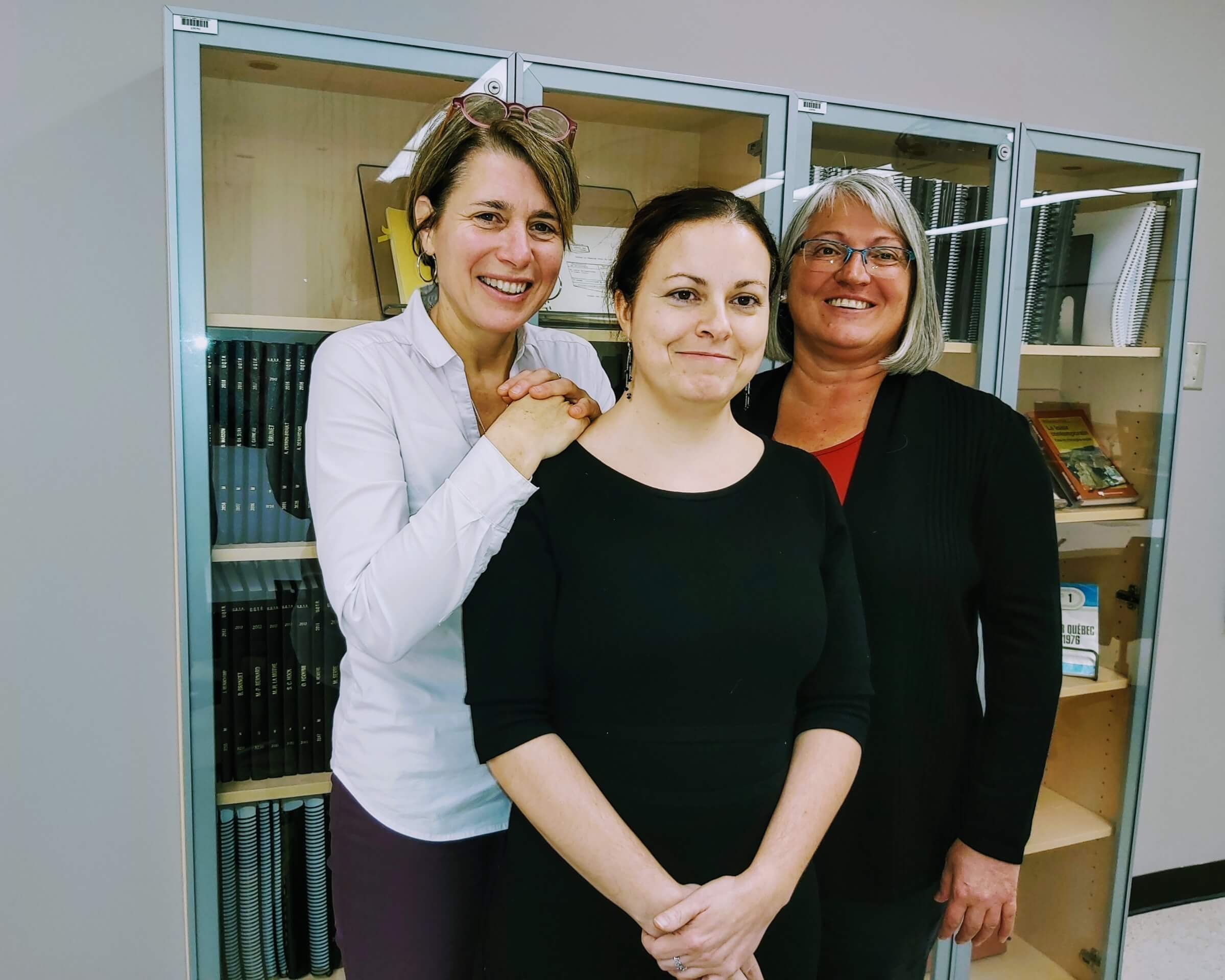 Caroline Chauveau obtient une bourse du Fonds de recherche du Québec