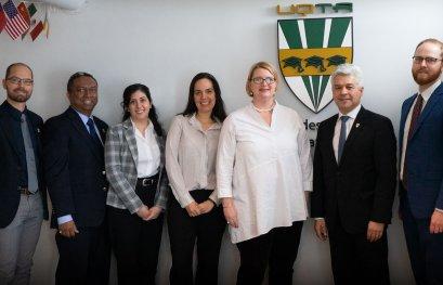 Deuxième visite du Consulat général des États-Unis