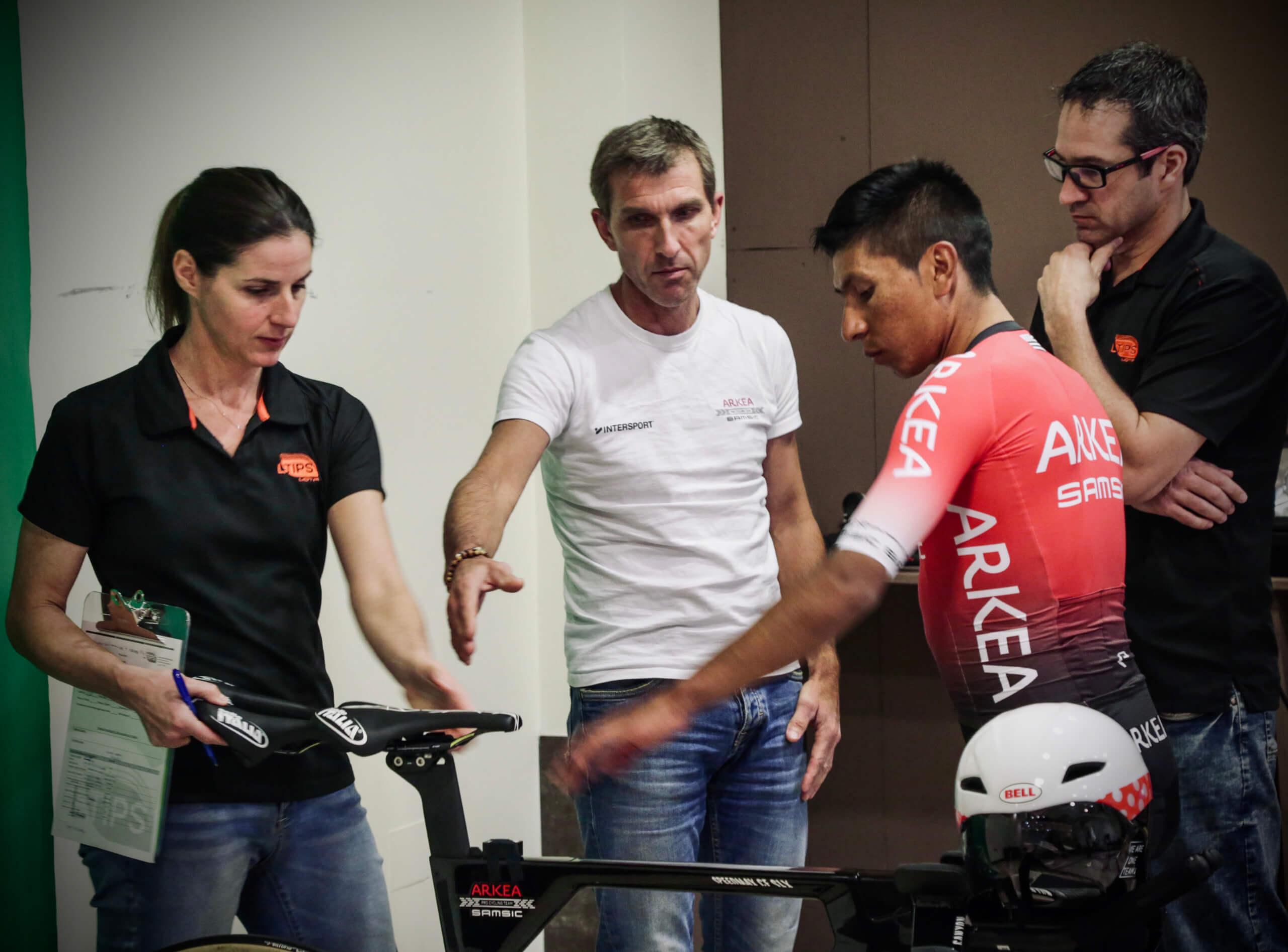 L'équipe cycliste Arkéa-Samsic mise sur l'expertise de deux chercheurs de l'UQTR