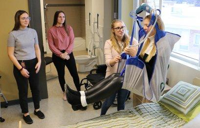 Le Département d'ergothérapie s'implante au campus de Drummondville