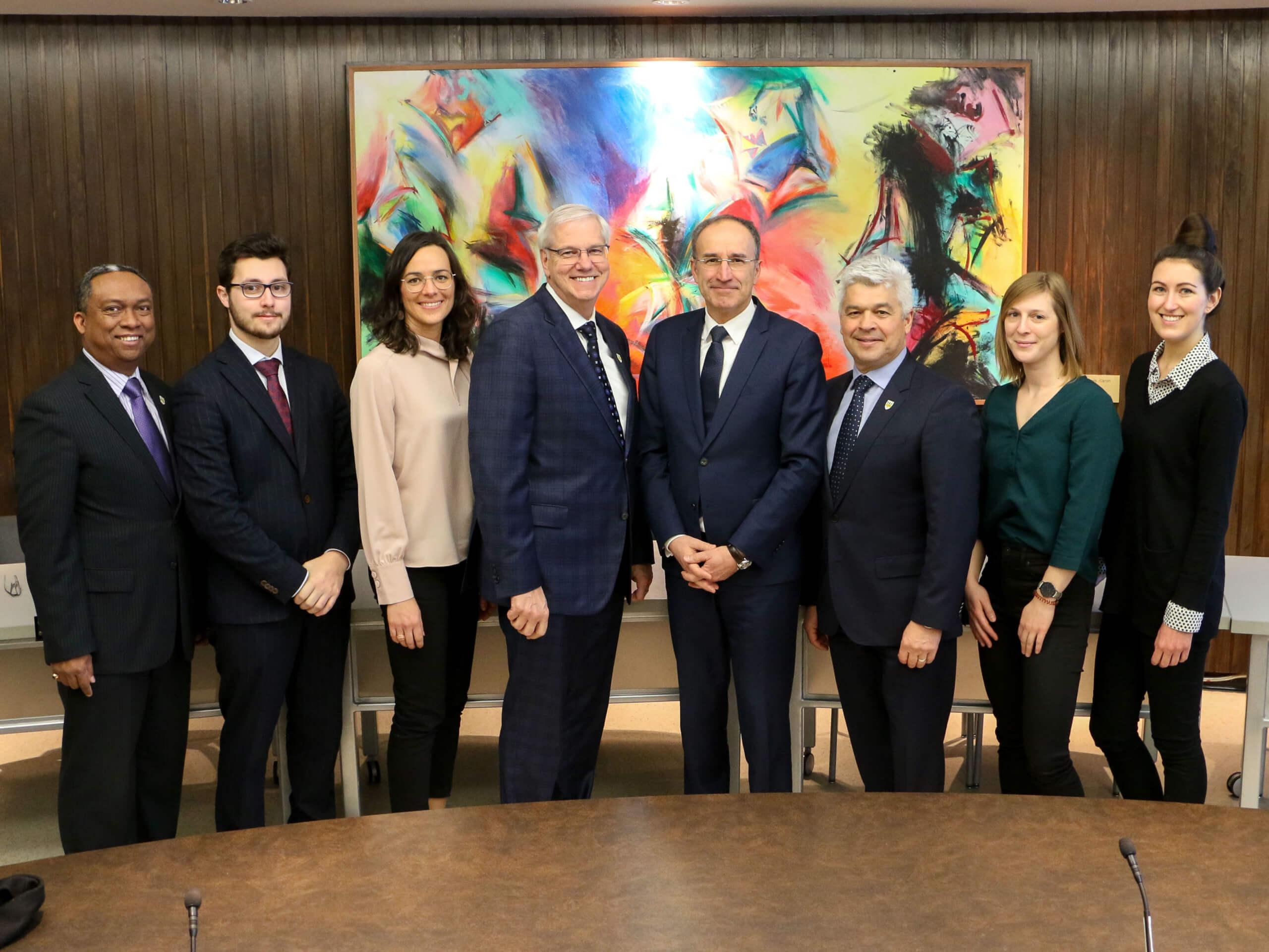 Visite du Consulat général de France