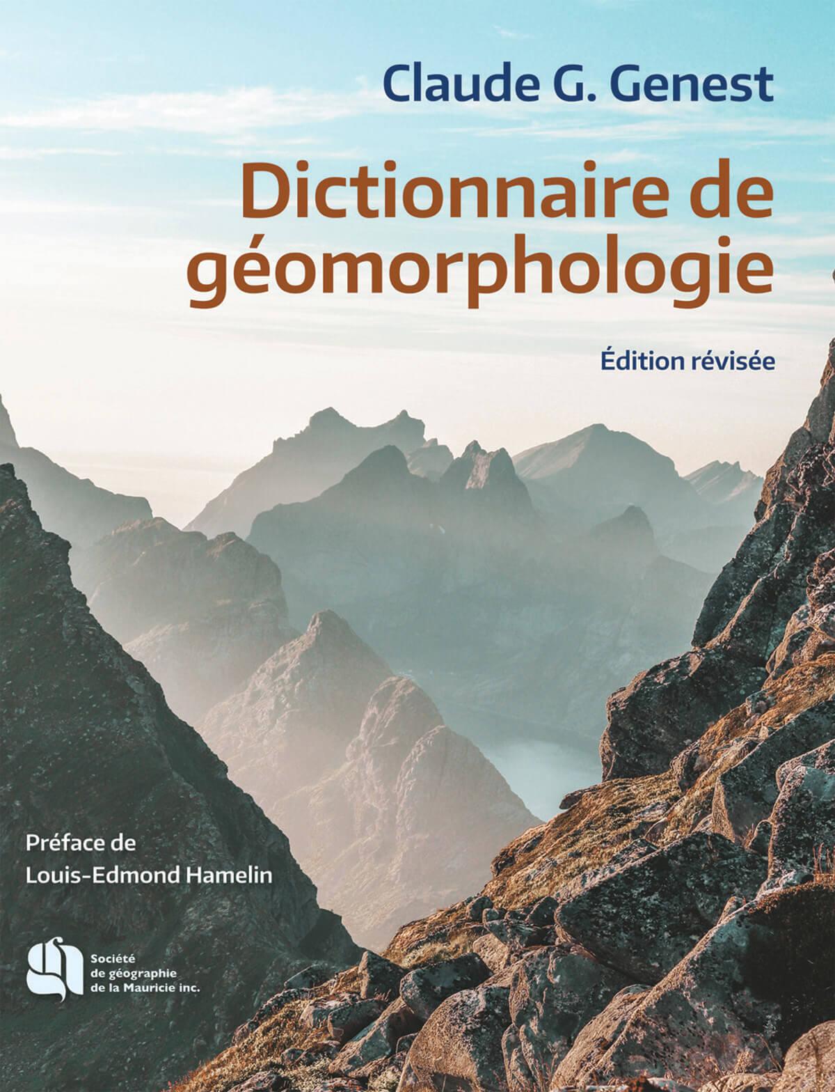 Dictionnaire de géomorphologie