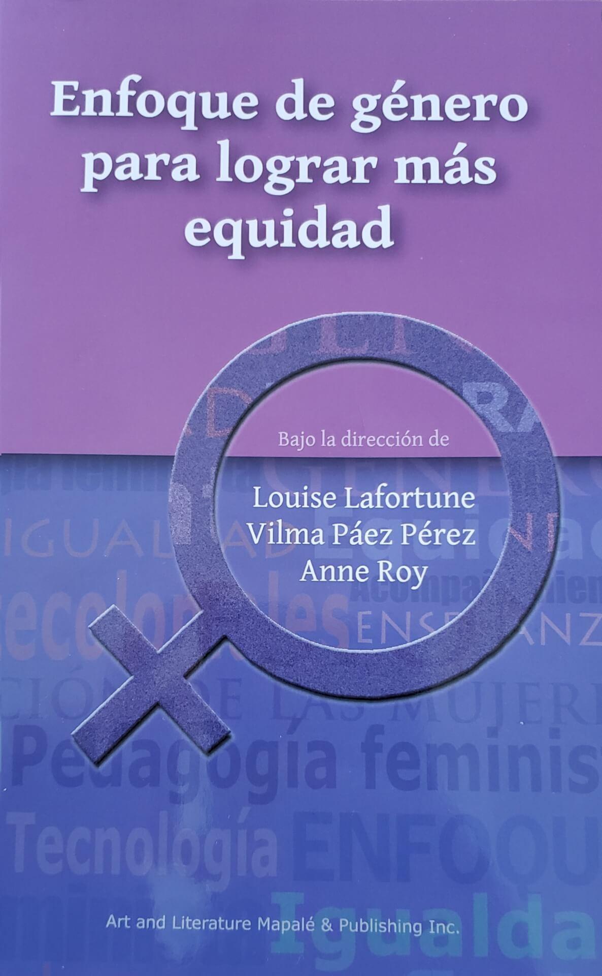 Enfoque de género para lograr más equidad