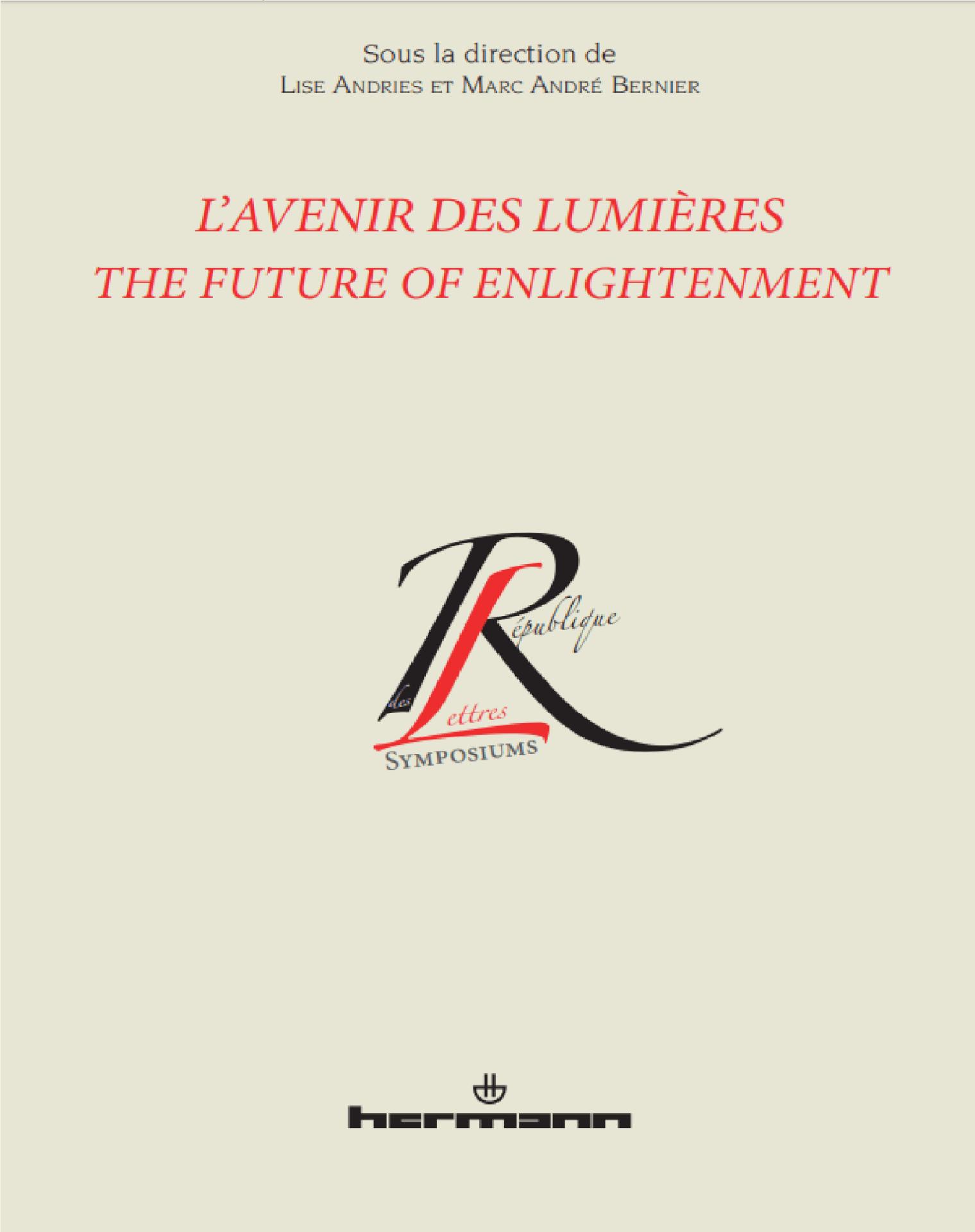 L'avenir des lumières