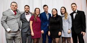 Le comité organisateur de la CQI 2021, composé d'étudiants de l'École d'ingénierie de l'UQTR.
