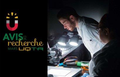 En mars : l'UQTR célèbre le mois de la recherche