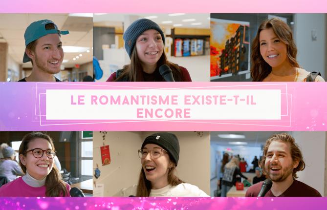 En vidéo: nos étudiants sont-ils romantiques?