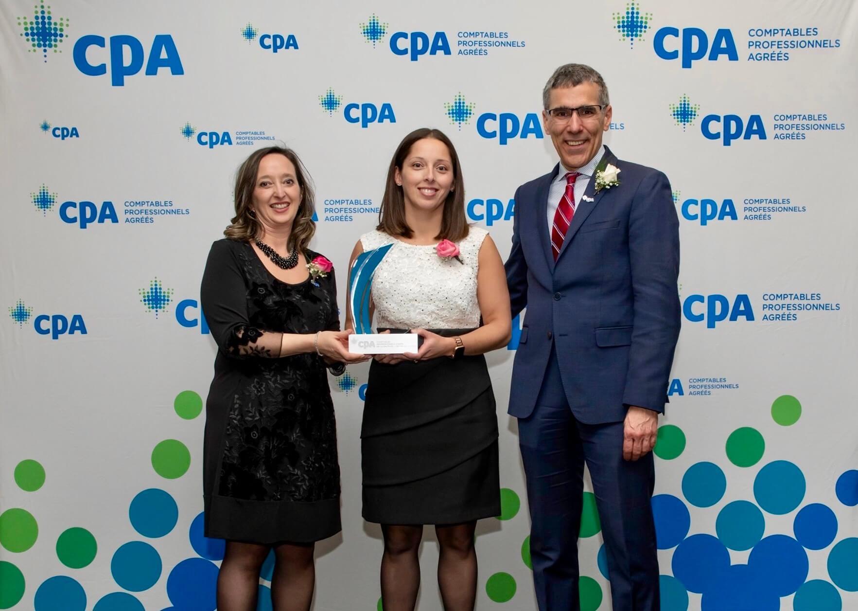 La professeure Audrey Bistodeau lauréate du prix CPA Émergence 2020