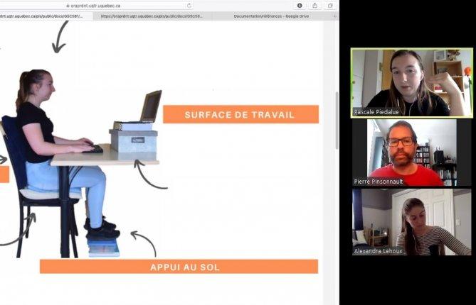 La télé pratique: nouvelle réalité des stagiaires en ergothérapie