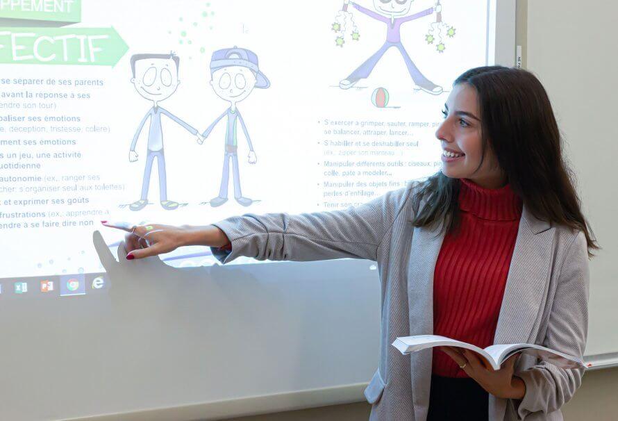 Rachel Croteau - Étudiante au baccalauréat d'éducation au préscolaire et d'enseignement au primaire