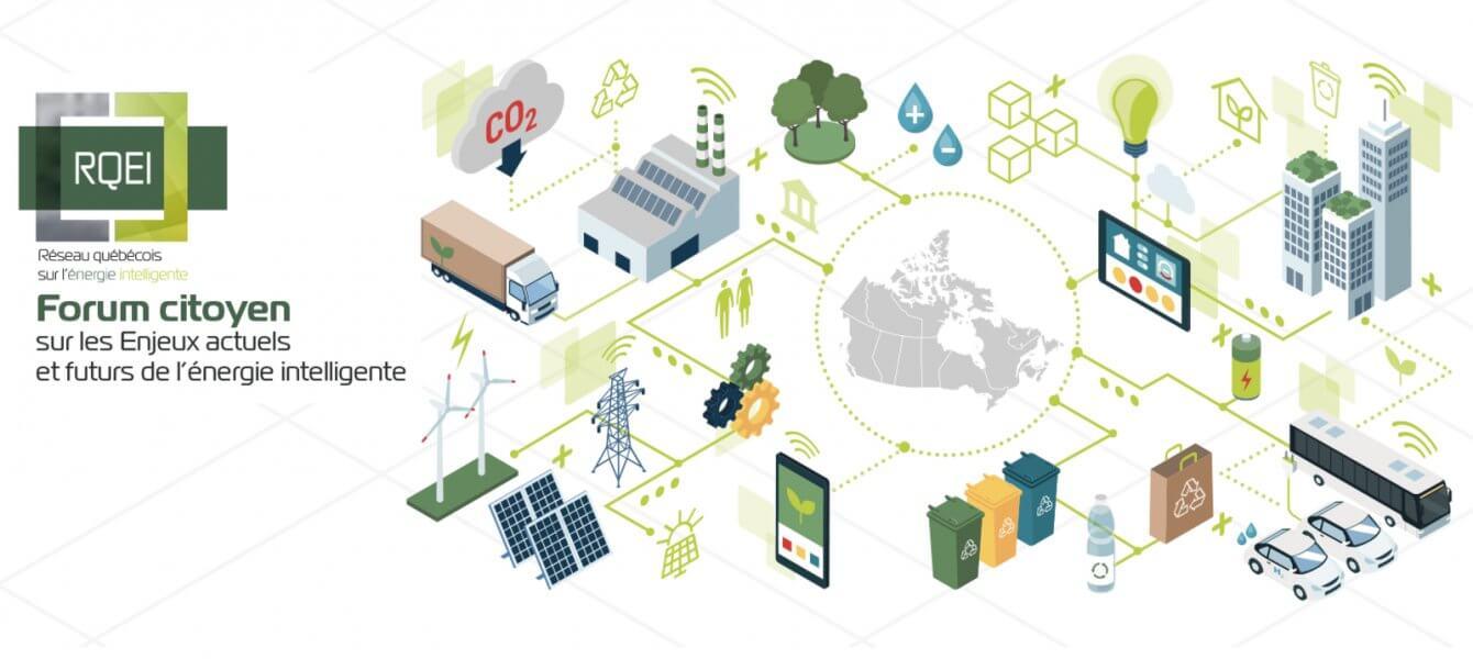 Forum citoyen sur les enjeux actuels et futurs de l'énergie intelligente