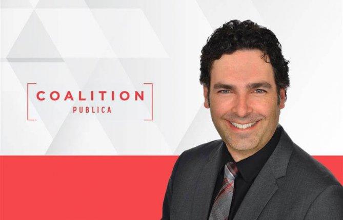 Deuxième mandat à la présidence de Coalition Publica pour Jason Luckerhoff