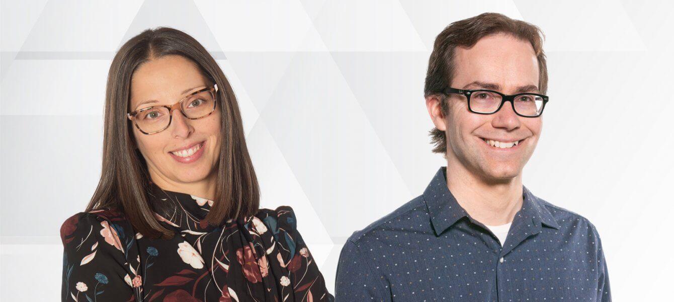 Audrey Bistodeau et Martin Dubuc se distinguent aux Trophées du numérique