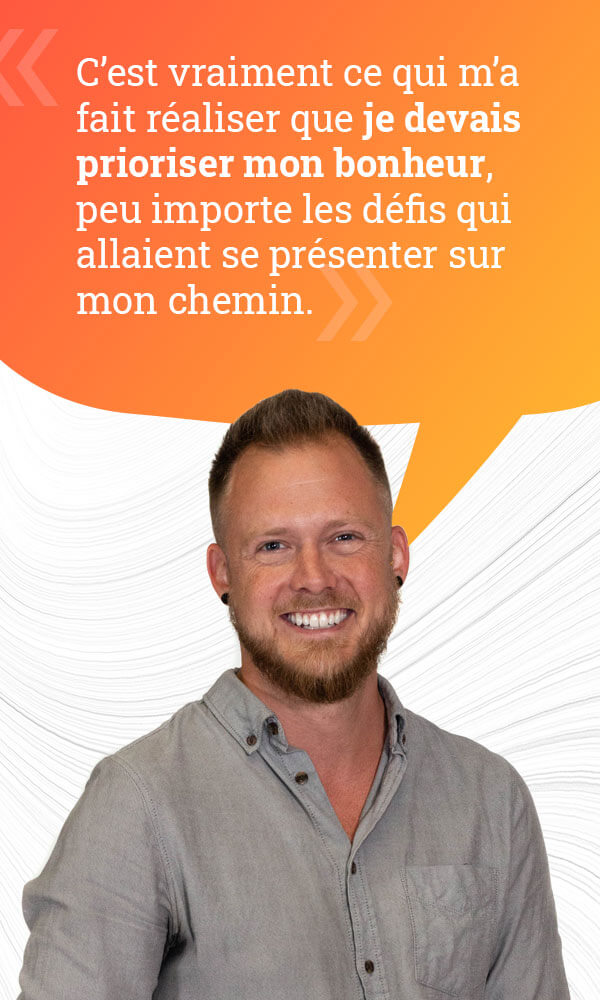 Dany Lescarbeau communication sociale citation