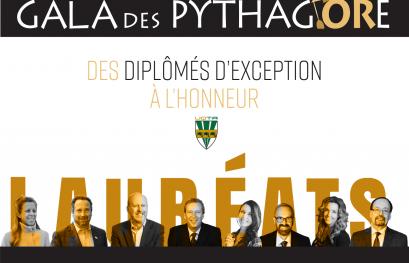 Huit diplômés exceptionnels honorés au 9e Gala des Pythagore