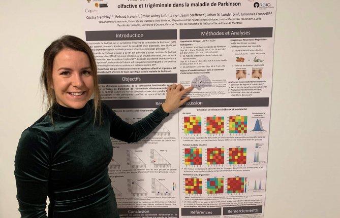 Altération spécifique de l'interaction entre les systèmes olfactif et trigéminal dans la maladie de Parkinson