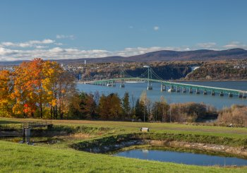Jason Luckerhoff collabore à la stratégie de valorisation du pont de l'Île-d'Orléans