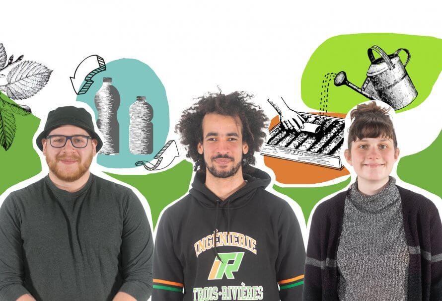 UniVert UQTR - Philippe Dorion, Yannick Grego et Mélissa Clermont