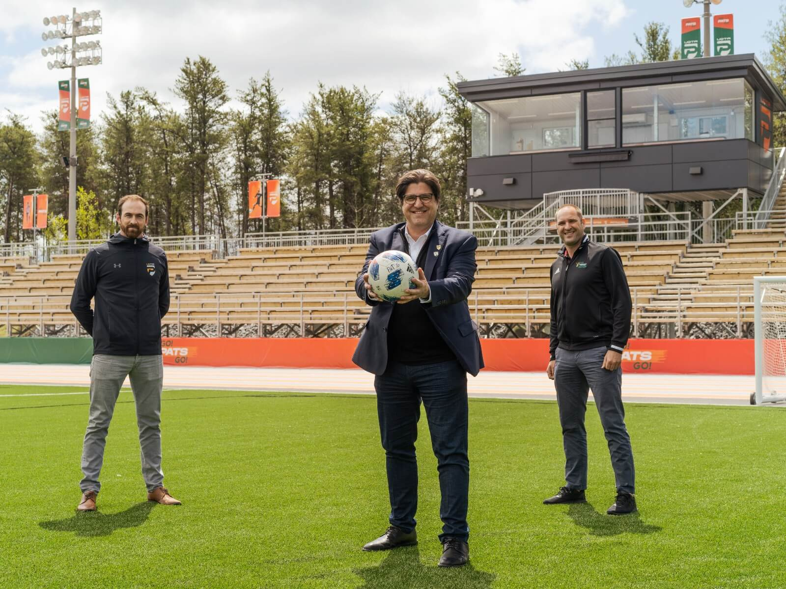 Nouvelles infrastructures sportives de haut niveau à l'UQTR