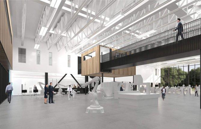 Pavillon du CNIMI : Bâtir une vision de l'avenir