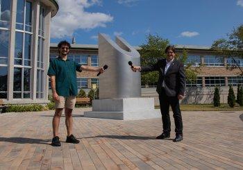 KNLO et Émile Bilodeau au spectacle de la rentrée de l'UQTR