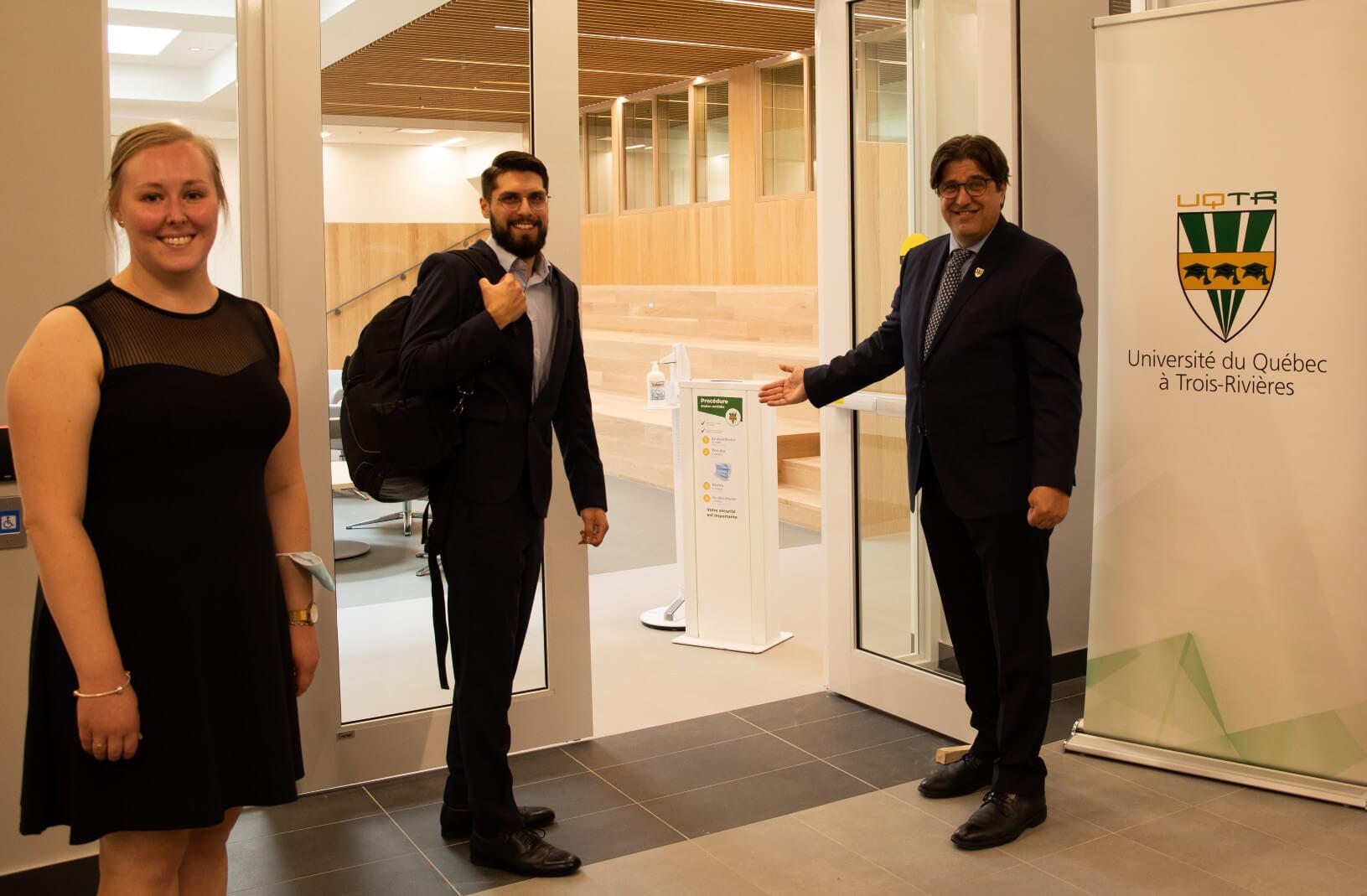 Rentrée historique pour l'UQTR à Québec